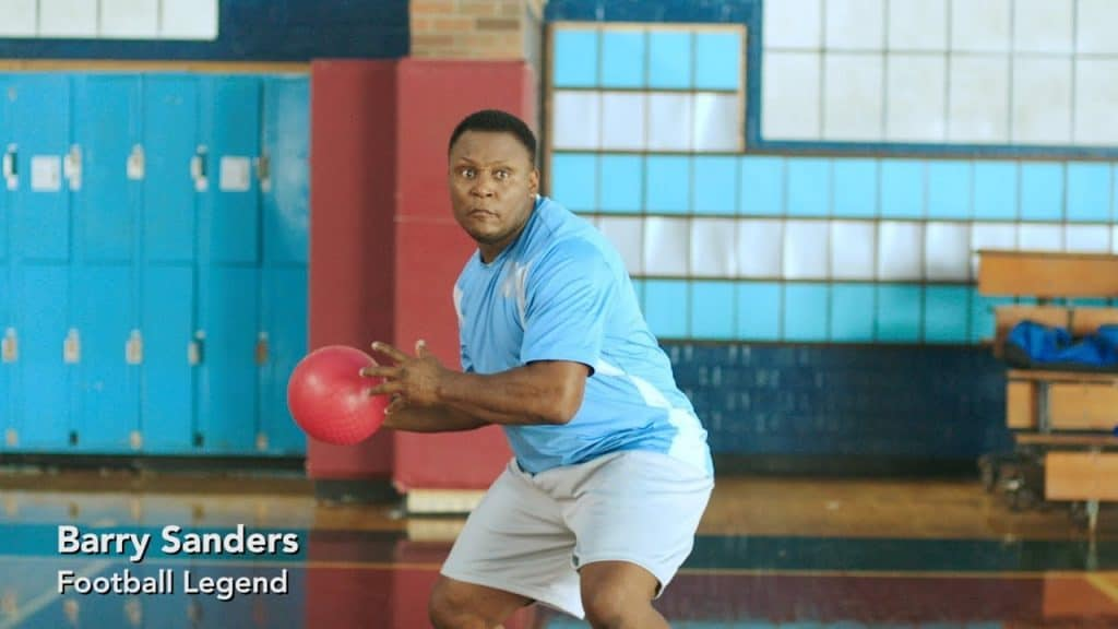 Barry Sanders Quicken Loans